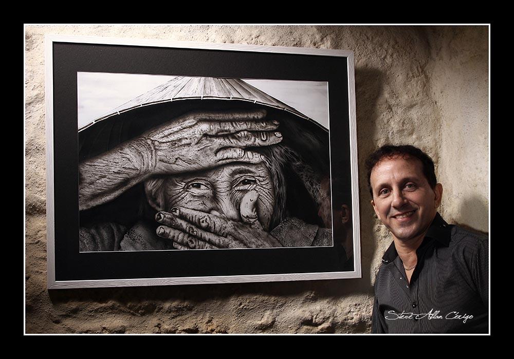 Shooting avec Mr JJ VITIELLO Artiste peintre aérographe