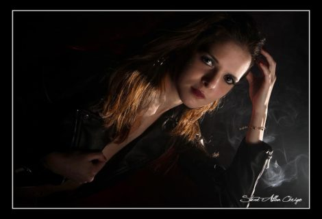Shooting Studio avec Coralie