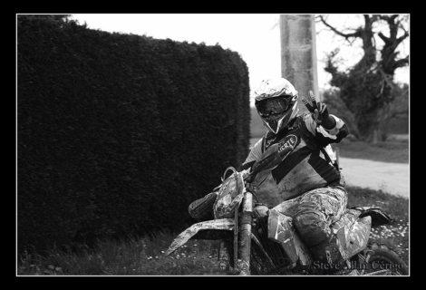 Course d'enduro moto des bois-34eme Edition