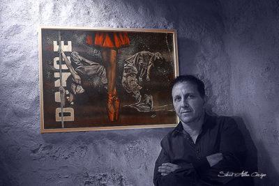 JJ Vitiello-Artiste peintre-Aerographe